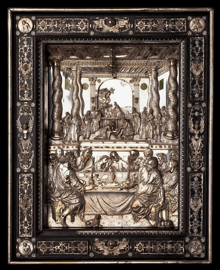 Silver portable altar of Constance of Austria by Matthäus Wallbaum, 1610s, Muzeum Diecezjalne w Płocku, given to the Płock Cathedral by Constance of Austria in 1618