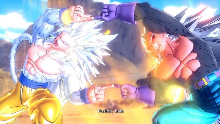 DragonBall Xenoverse: SS5 Goku And SS5 Vegeta Fusion: SS5Gogeta