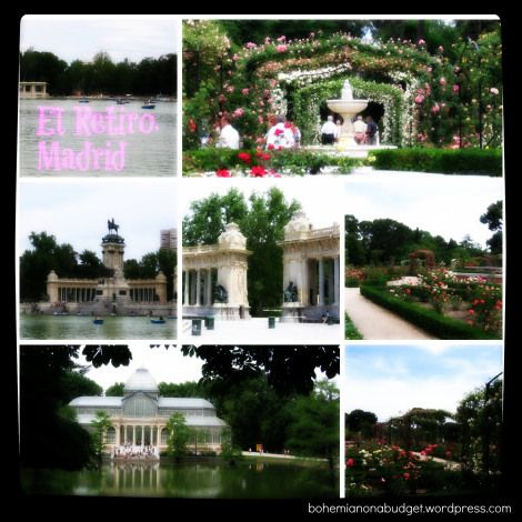 Weekend Postcard #Retiro #Madrid #Spain #travel #parks #garden #flowers