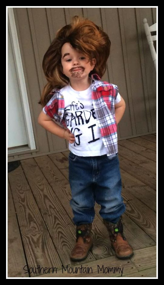 http://www.southernmountainmommy.com/halloween-2015/ Joe Dirt. Halloween Joe Dirt. Halloween Costume. DIY Halloween