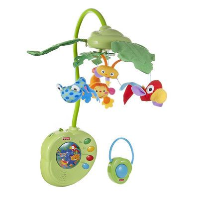 Other Toys for Baby 179013: Fisher Price K3799 Rainforest Peek A Boo Leaves Musical Mobile - Music And Motion -> BUY IT NOW ONLY: $59.5 on eBay!