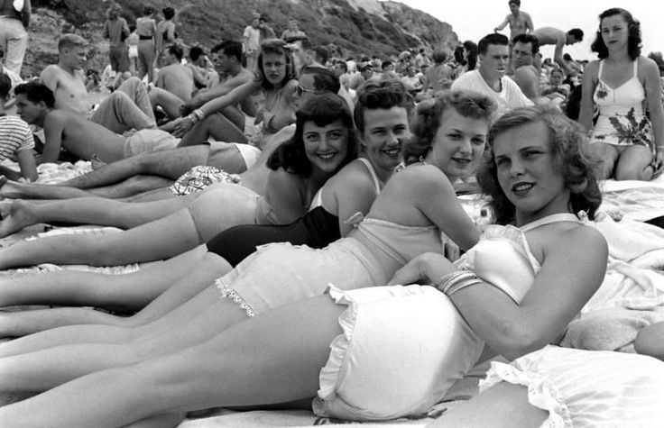 This is what spring break looked like in 1947.  (Peter Stackpole—The LIFE Picture Collection/Getty Images)