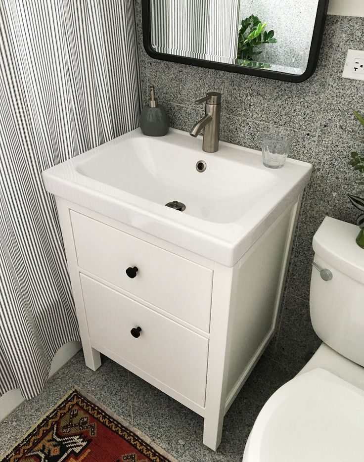 Installing A Hemnes Odensvik Bathroom Vanity And Sink In