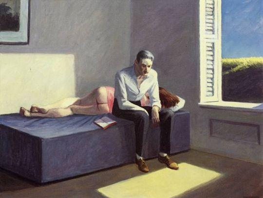 Excursion into philosophy de Edward Hopper