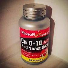 Mason Natural Co Q-10 Plus Red Yeast Rice - 50 Softgels - NIP in Health & Beauty, Vitamins & Dietary Supplements, Dietary Supplements | eBay