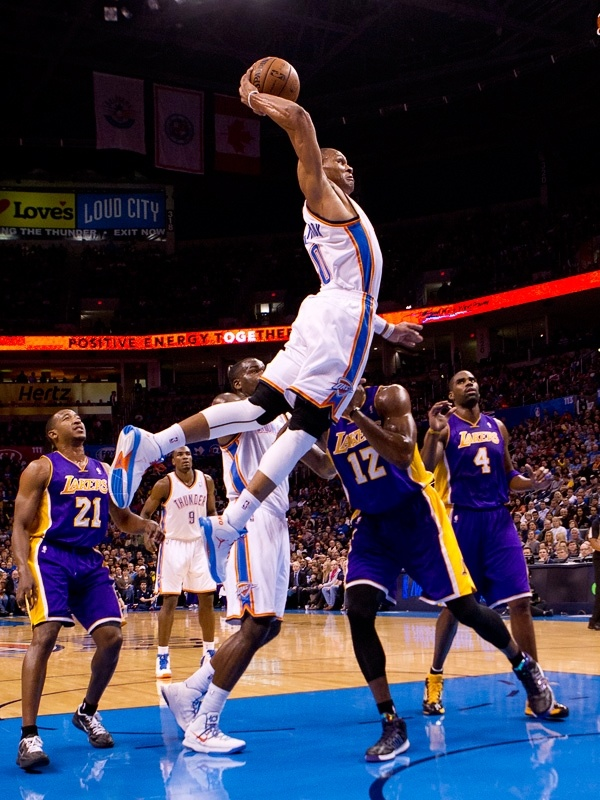Thunder vs. Lakers: Dec. 7, 2012 | THE OFFICIAL SITE OF THE OKLAHOMA CITY THUNDER