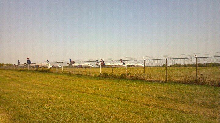 KCWA - Saab 340's Parked