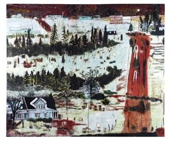 IRON HILL By Peter Doig