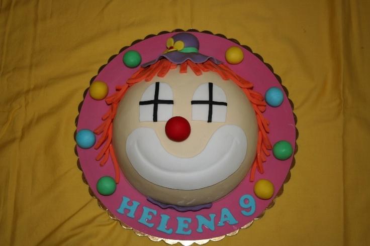 #clown cake #torta pagliaccio #