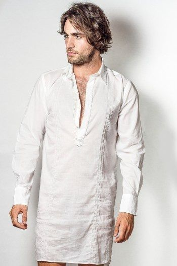 Image result for man in night shirt