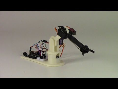 Arduino Blog – The little Arduino robot arm that could!