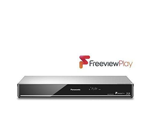PANASONIC 4K Upscale,Built-in WiFi, Smart 3D Blu-ray Player & DVD Player with Freeview Play + HD Recorder - 1 TB HDD