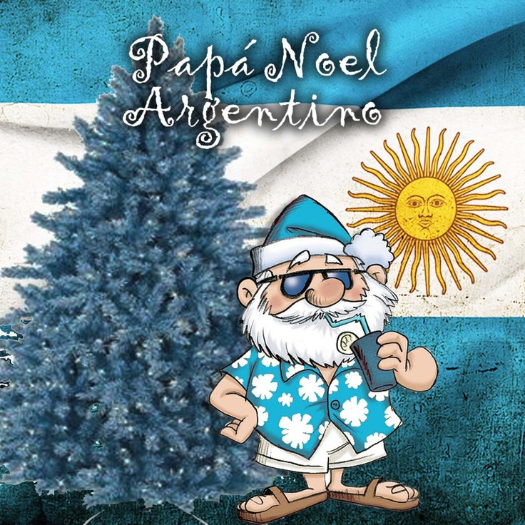 We do Christmas summer-style here down in Argentina!!