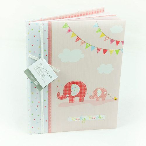 Pink Baby Girl Record Book