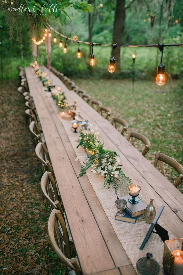 34 Enchanting Woodland Wedding Ideas That Inspire – Page 4 of 4