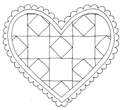 Beccy's Place: Quilted Heart