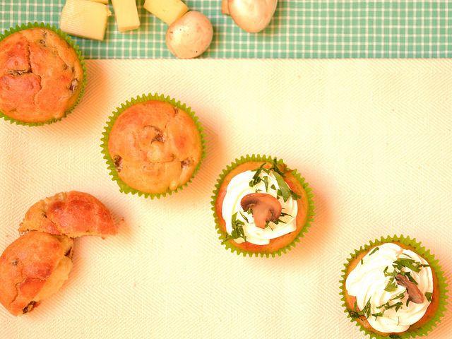 Muffin Salati Bimby con Funghi