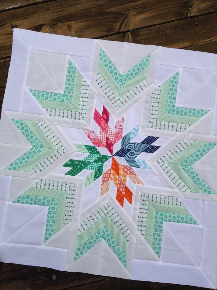 Isn't this lovely! Bird in the window quilt star, aviatrix medallion center star quilt. #Quilting #Quilts #Blocks http://www.marycoveydesigns.com