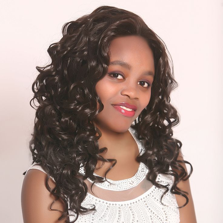Ни Кружева Синтетический Парик волос Sexy Мягкий Степень Длинные Волнистые волосы Синтетический Парик Косплей синтетический Парик Волос Мода парики Натуральные 007