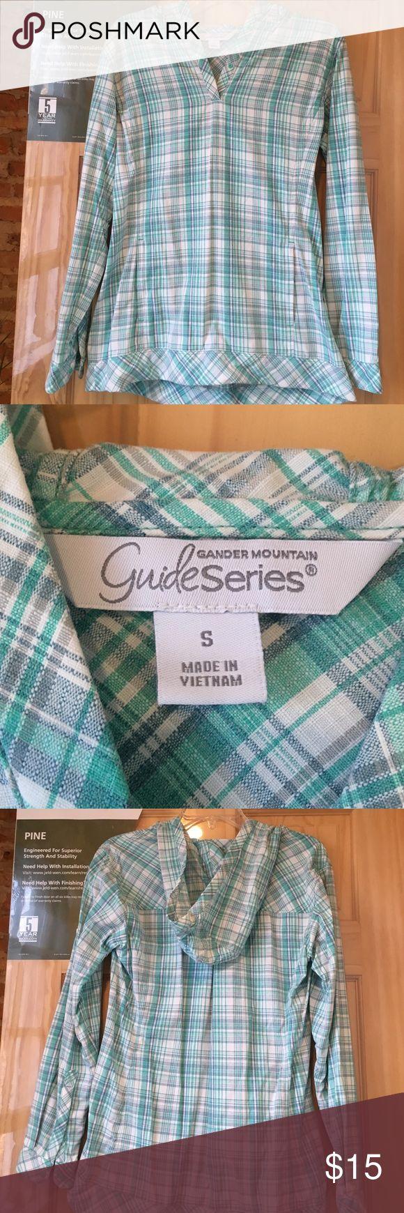 Gander Mountain Guide Series shirt Gander Mountain guide series pull over shirt size sm Gander Mountain Tops Tunics