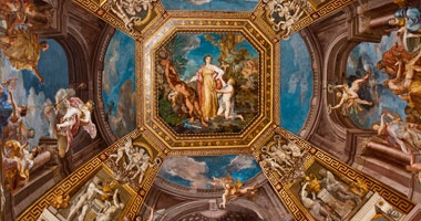 Rome, hand-painted Vatican Ceiling