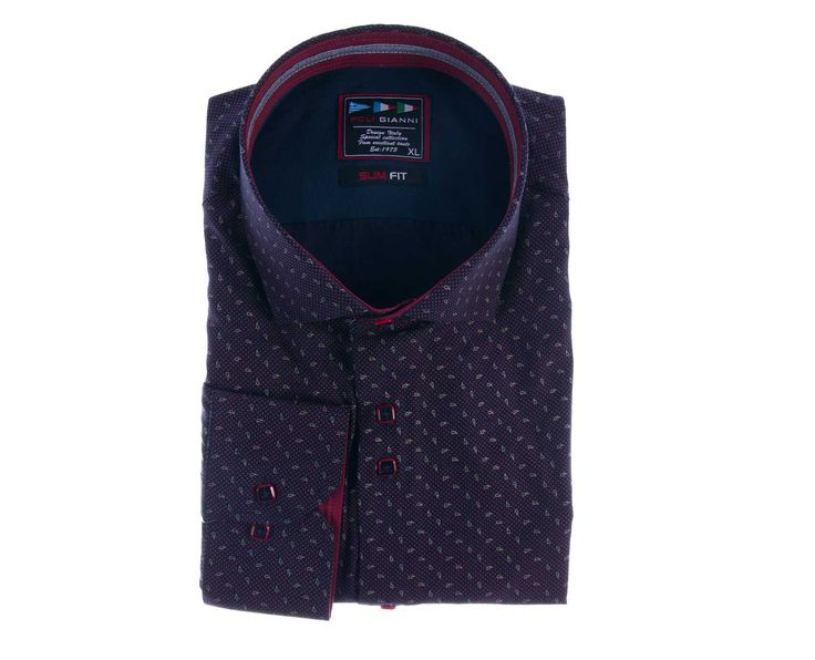 """Ανδρικό Πουκάμισο """"Villa Top"""" Slim Fit σε δύο χρώματα 100% Βαμβάκι. Το συγκεκριμένο ανδρικό πουκάμισο διαθέτει rex σκληρό γιακά ώστε να μπορείτε να φοράτε το συγκεκριμένο πουκάμισο, είτε στις πιο επίσημες στιγμές σας είτε στις πιο casual."""