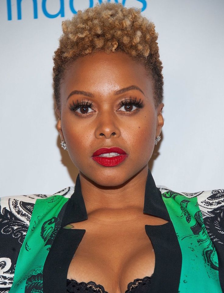Chrisette Michelle Defined Tapered TWA