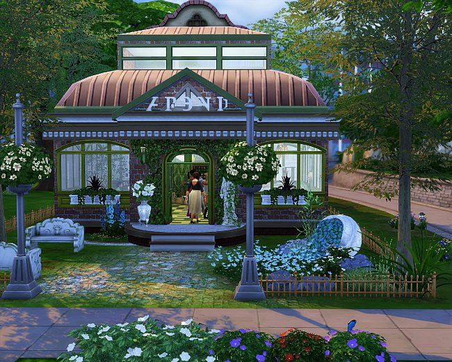 Цветочный магазин (TS4)