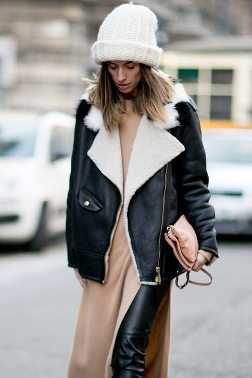 17 Best images about trending: shearling on Pinterest | Classic ...