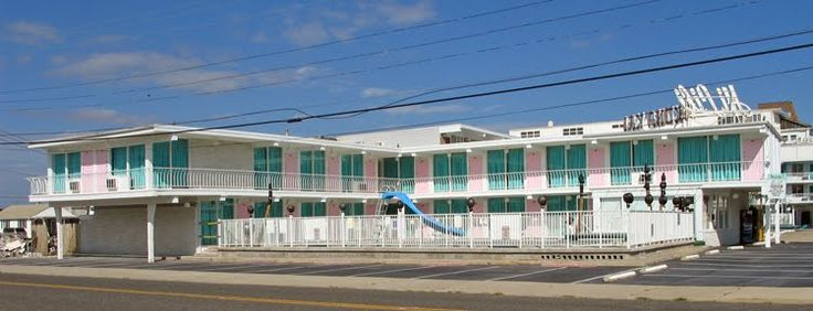 Hi lili motel wildwood crest sadly it was demolished in for Zola motel zola predosa