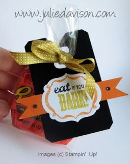 Julie's Stamping Spot -- Stampin' Up! Project Ideas Posted Daily: Control Freaks Blog Tour: Halloween Bash Ensemble