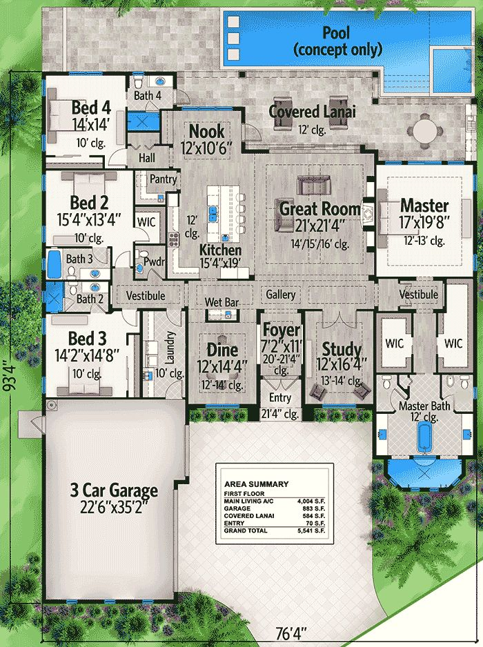 Master Bedroom 1st Floor House Plans best 25+ split level house plans ideas on pinterest | house design