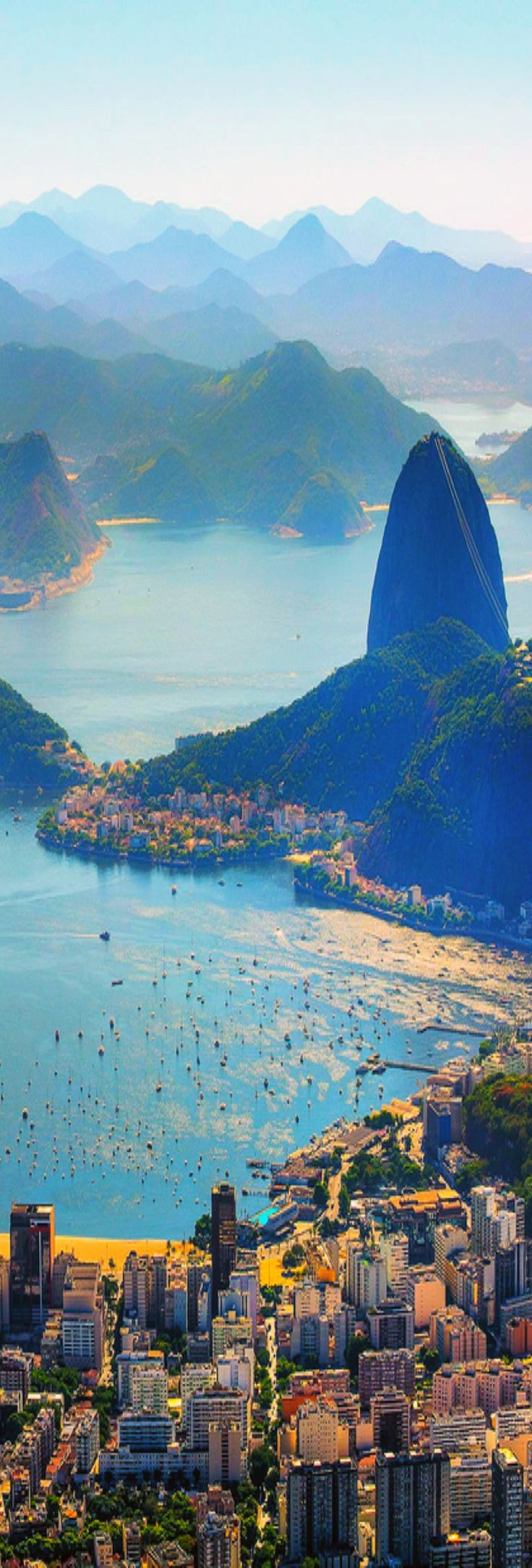Aerial View Rio de Janeiro,Brazil // Premium Canvas Prints & Posters // www.palaceprints.com // STORE NOW ONLINE! monster