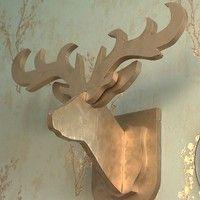 No programa Mosaico Baiano, Eduardo Filho mostrou o passo a passo para fazer uma escultura de cabeça de alce.
