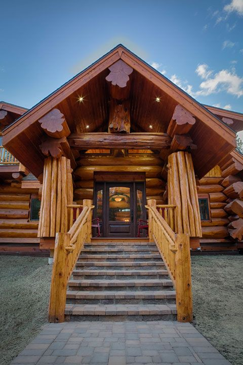 147 best images about log homes on pinterest log cabin homes cabin and logs. Black Bedroom Furniture Sets. Home Design Ideas