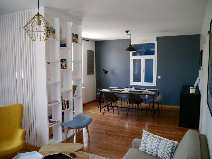 Rénovation / Décoration / Aménagement appartement Biarritz pour pied à terre , location meublé