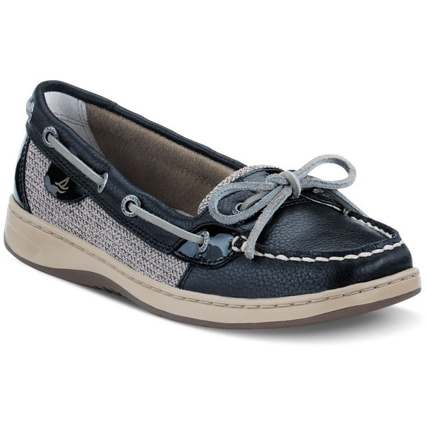 Sperry Top-Sider Women's Shoes, Angelfish Boat Shoes ($95) ❤ liked on Polyvore