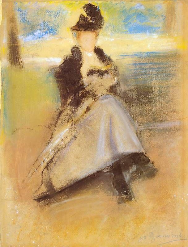 Olga Boznańska – Portret paryżanki
