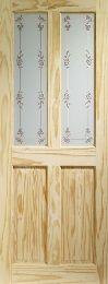 Knotty Pine Victorian Bluebell Internal Door