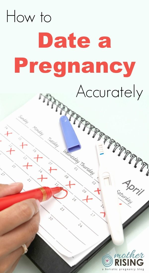 Dating to get pregnant