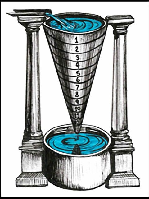 Image result for water clock mesopotamia