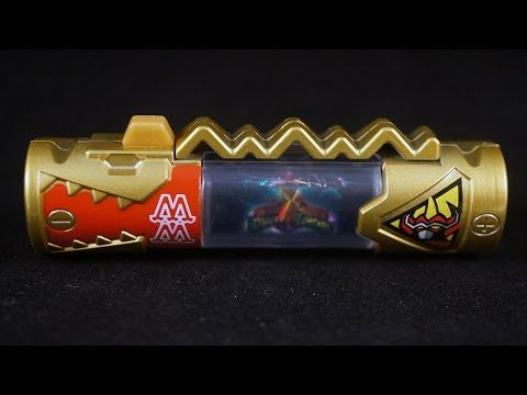 Power Rangers Dino Charge - Dino Megazord Toys R Us Exclusive Dino Charger - YouTube