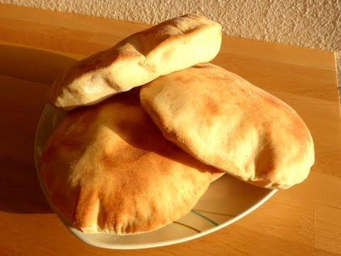 Como fazer pão pita ou Pão Sírio