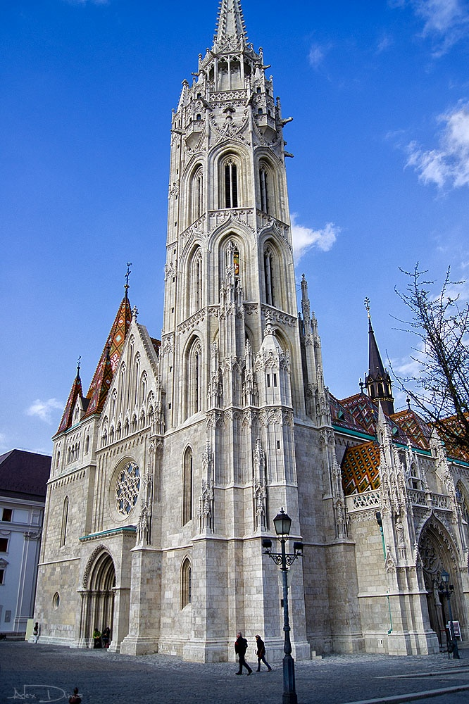 The most impressive church from Hungary.