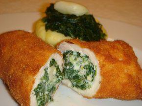 Nem vagyok mesterszakács: Fokhagymás-spenótos mascarponéval töltött csirkemell