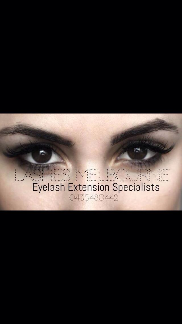 Lashes Melbourne - The Eyelash Extension Specialists! Glamour Set by Trina. www.lashesmelbourne.com.au