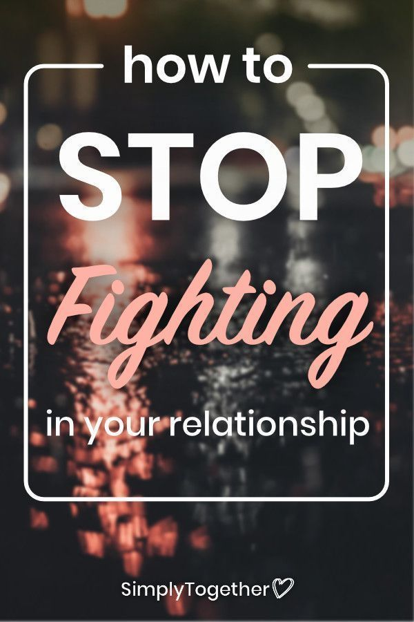 How to improve a relationship after a fight