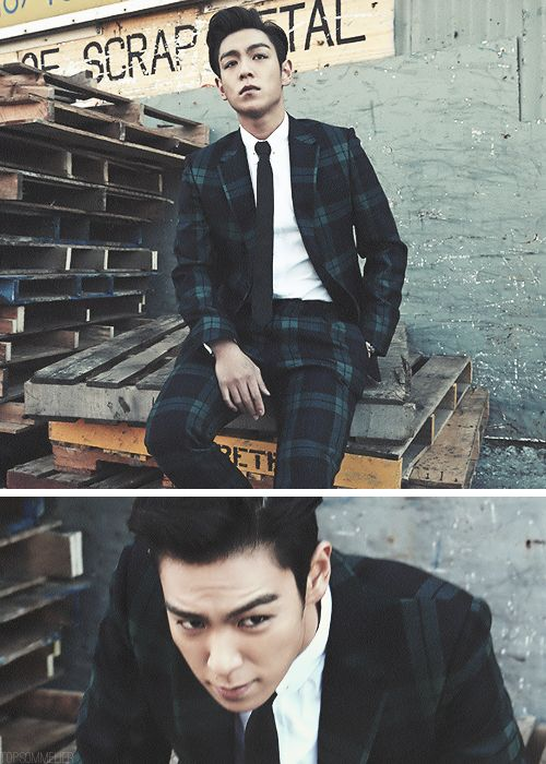 #top #bigbang OMG TOP WHY MUST YOU BE SOO HANDSOME!?! <3