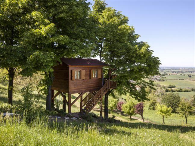 Aroma(n)tica Treehouse i Piemonte i norra Italien är också populär.
