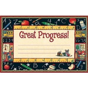 Teacher Created Resources Great Progress Awards from Susan Winget